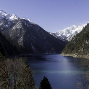 long lake,Jiuzhaigou 2018 earthquake, reopens